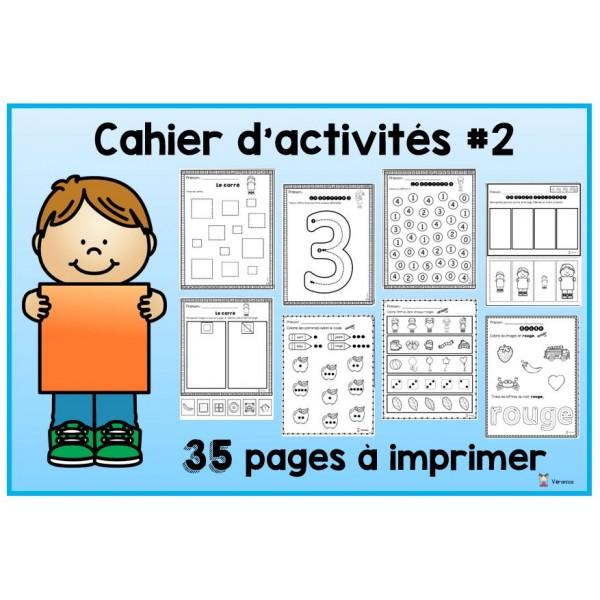Cahier d'activités #2