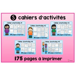 Cahiers d'activités: ensemble