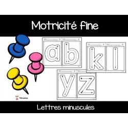 Motricité fine: lettres minuscules