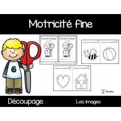 Motricité fine: découpage (images)