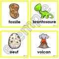Dinosaures: chasse aux mots
