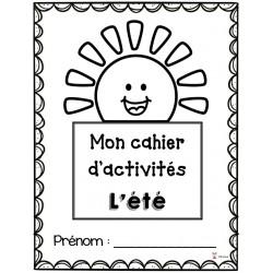 Cahier d'activités: l'été