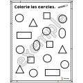 Formes géométriques: mon cahier du cercle