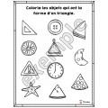 Formes géométriques: mon cahier du triangle