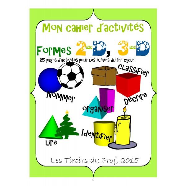 Les solides cahier d'activités complet