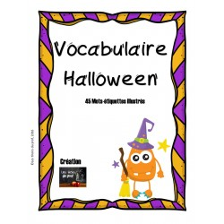 Vocabulaire Halloween