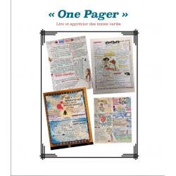 One Pager - Roman au choix