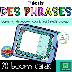 Phrases mots fréquents outils sons CP BOOM CARDS
