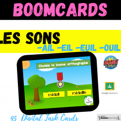 Son ail eil euil ouil Phonics Boom Cards Google