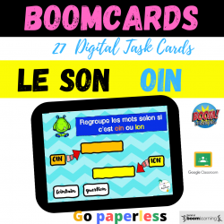 BOOM CARDS Phonics son OIN Distance Learning