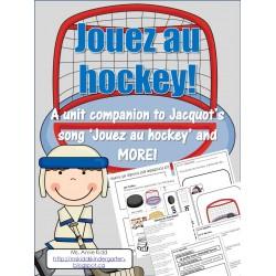Jouez au hockey