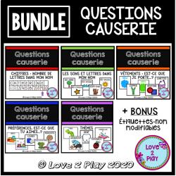 BUNDLE - Questions Causerie