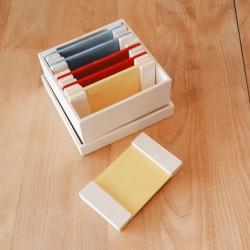 Montessori - La 1ere boîte des couleurs