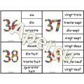 Nombres 0 - 100 - 2 jeux d'association