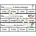Les verbes en -er - jeu d'association
