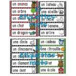 Les lettres de l'alphabet - Ensemble complet