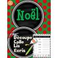 Noël - Découpe et colle
