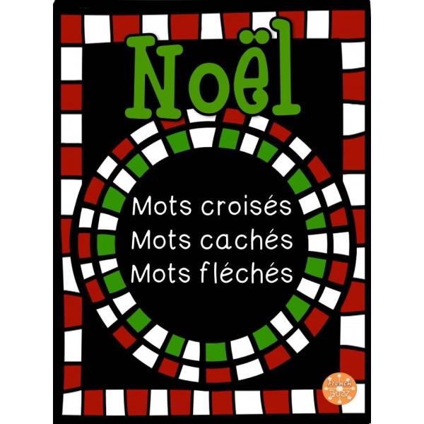 Noël - Mots croisés, cachés, fléchés