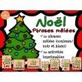 Noël - Phrases mêlées