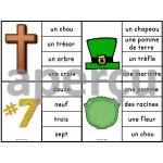 La Saint-Patrick - Ensemble 2 jeux d'association