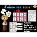 """Le son """"ch"""" - jeux et activités"""