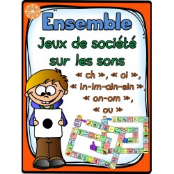 Les sons ch-oi-on-in-ou - Ensemble des jeux
