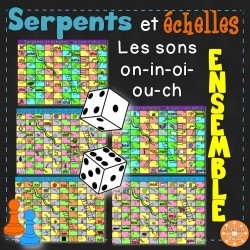Les sons oi-ch-on-in-ou - Serpents et échelles