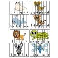 Les animaux - Ensemble de casses-tête