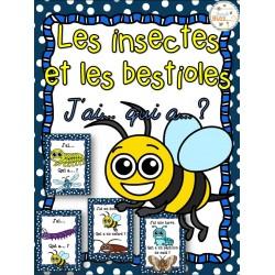 Insectes et bestioles - Jeu j'ai qui a