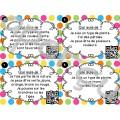 Codes QR - Été - Cartes à tâches - Qui suis-je?