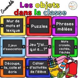Les objets dans la classe - Ensemble