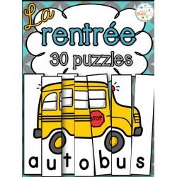 La rentrée - Puzzles 2
