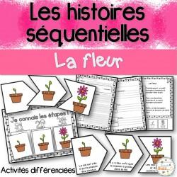 Histoires séquentielles - La fleur