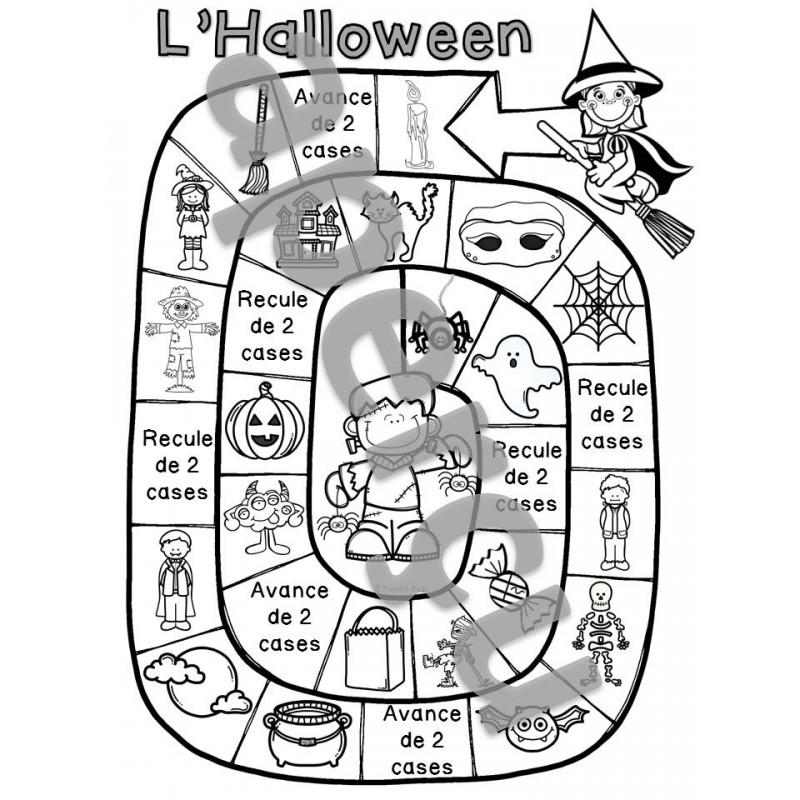 L\'Halloween - jeu de société