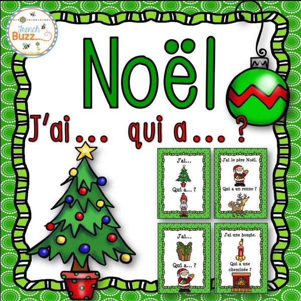 "Noël - jeu ""j'ai... qui a...?"""