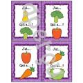 Les fruits et légumes - Ensemble 2 jeux