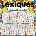 Lexiques - Ensemble complet