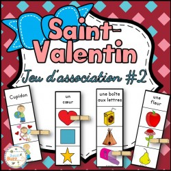 Saint-Valentin - Jeu d'association #2