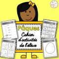 Pâques - cahier d'activités
