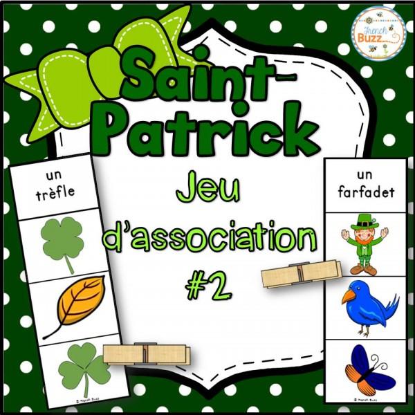 La Saint-Patrick - Jeu d'association #2