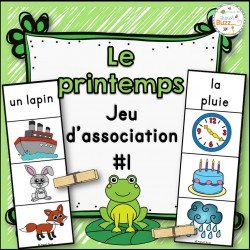 Le printemps - jeu d'association #1