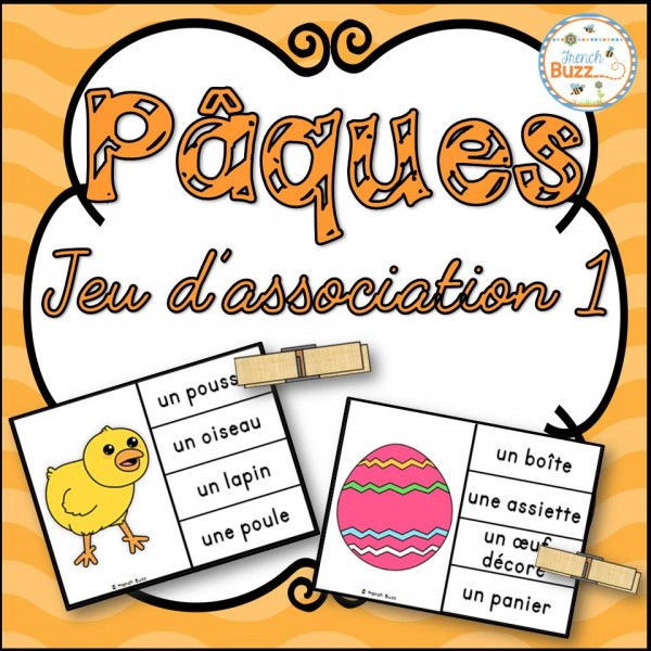 Pâques - Jeu d'association #1