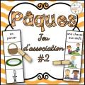 Pâques - Jeu d'association #2