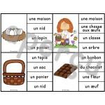 Pâques - Ensemble 2 jeux d'association