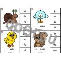 Les syllabes - choisis la syllabe qui manque - 60