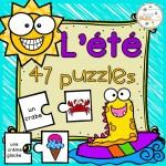 L'été - 47 puzzles/casse-tête