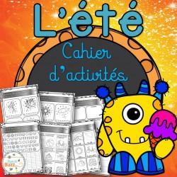 L'été - cahier d'activités de l'élève