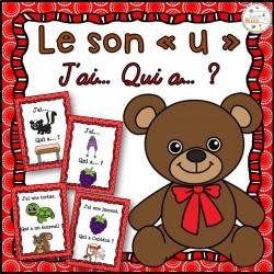 """Le son """"u"""" - jeu """"j'ai qui a?"""""""