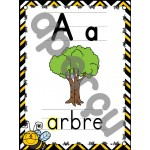L'alphabet - Affiches - Thème: abeilles