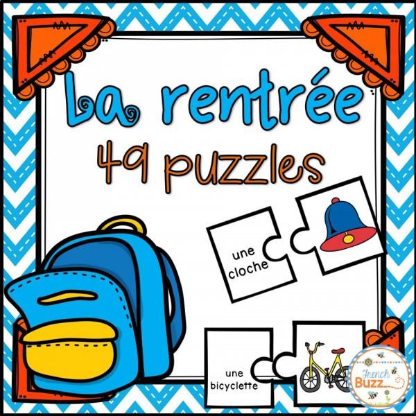 La rentrée - 46 puzzles